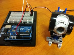 Webcam con Arduino