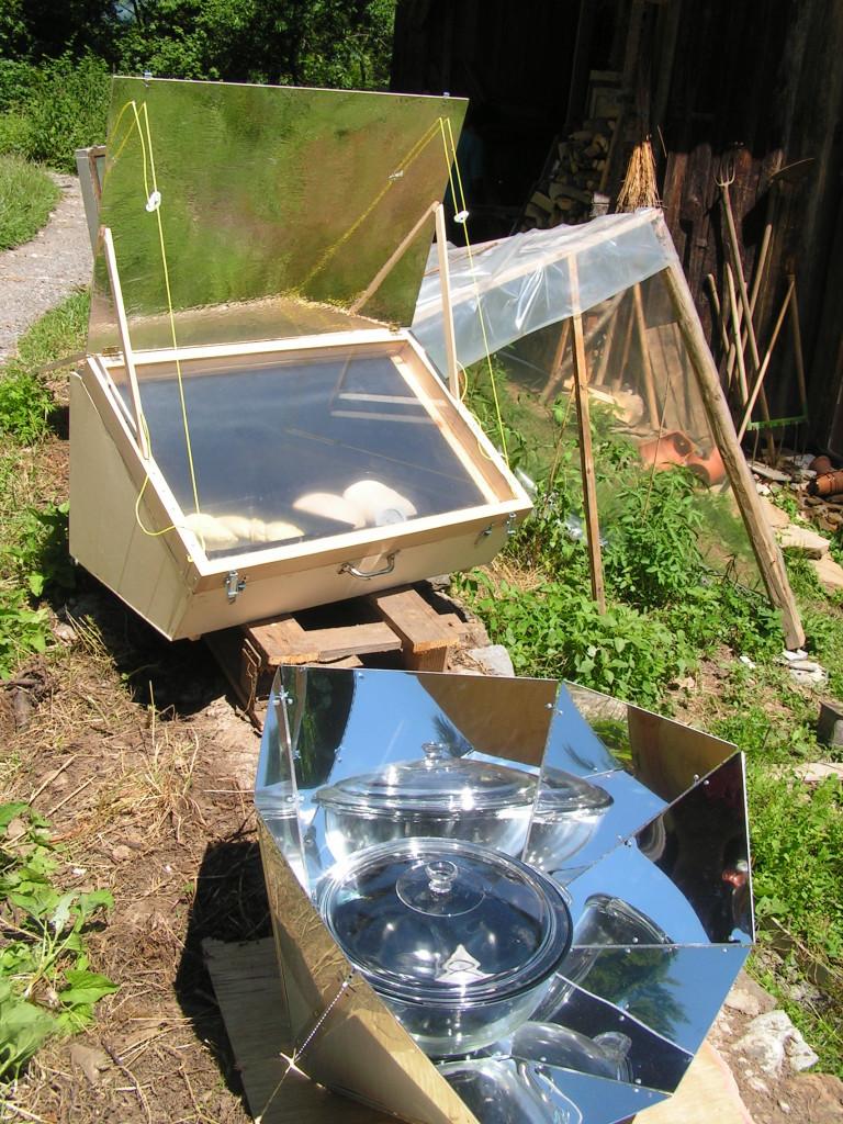 cocina horno solar