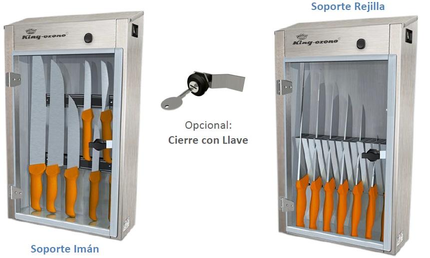desinfeccion cuchillos cabin