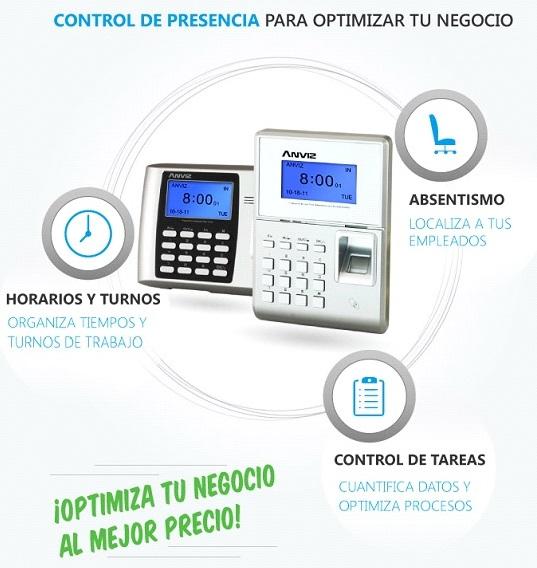 El control de acceso y presencia, con un sistema muy sencillo, aporta datos muy útiles para cualquier empresa.