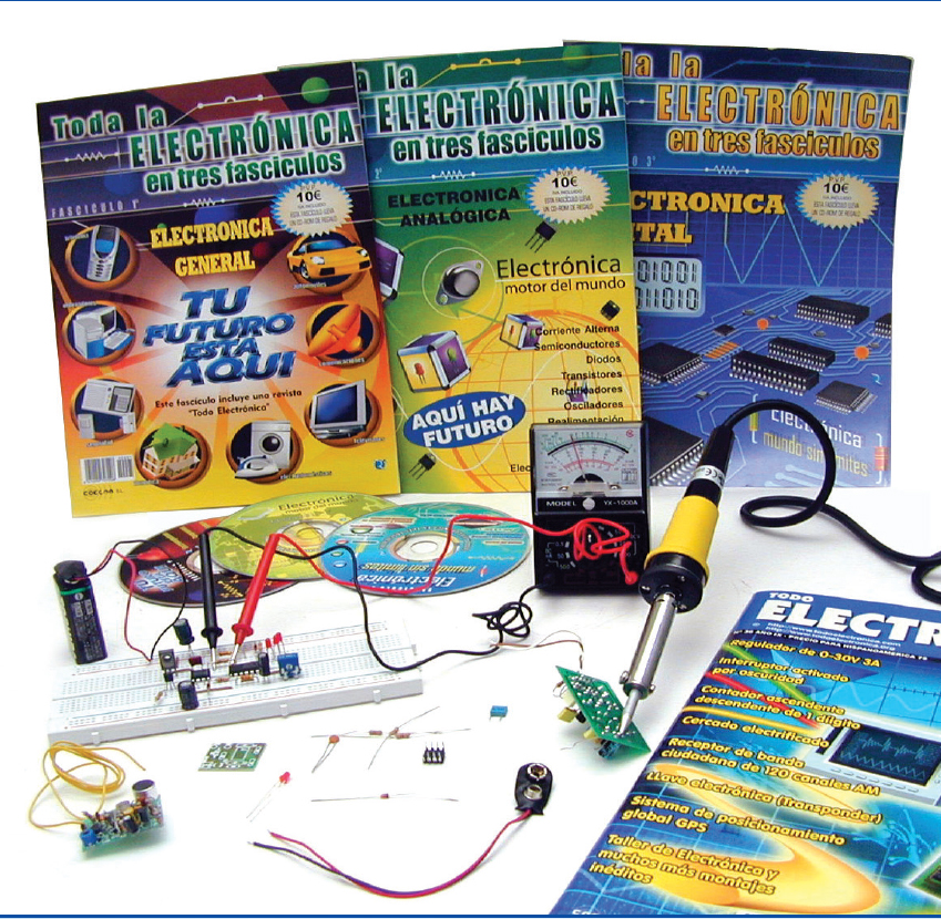 El Curso de Electrónica está recomendado para estudiantes y aficionados al sector.