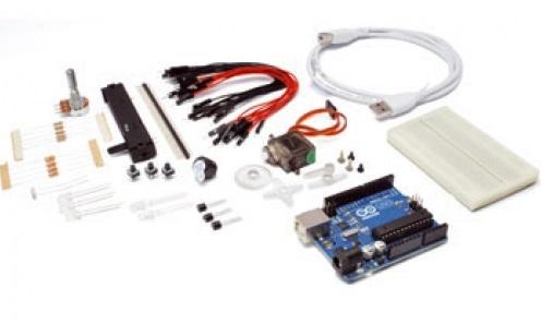 El kit de iniciación de Arduino es la mejor opción para empezar.