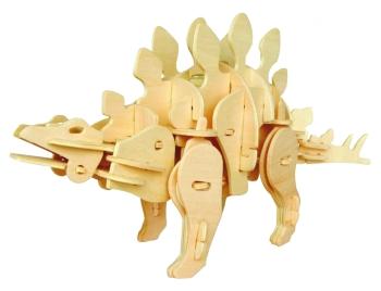 Los kits de montaje de dinosaurios de madera son perfectos para amantes de las maquetas.