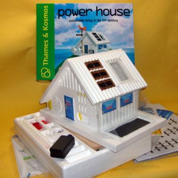 Esta casa ecológica es un ejemplo de sostenibilidad y respeto al medio ambiente.