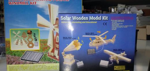 Estos kits de madera o plástico son algo más que un juguete.