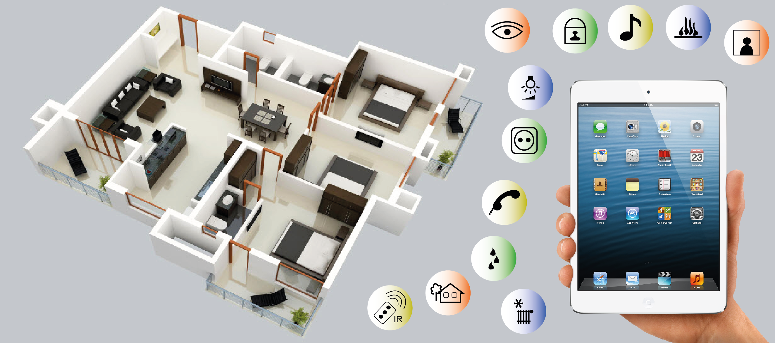 Home automation research and development are booming.