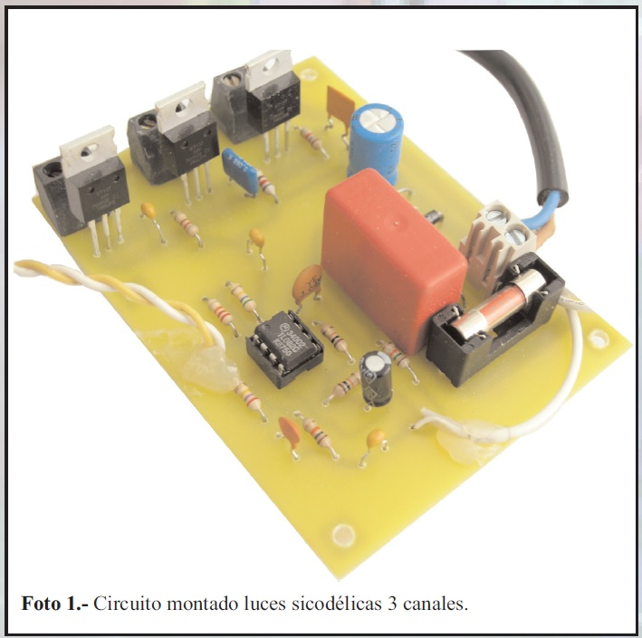 electronic assembly proposed by a reader of the magazine Todoelectronica.