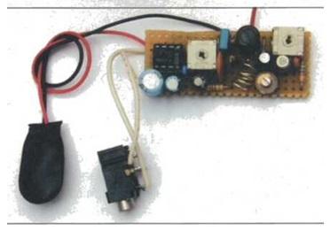Este montaje es muy adecuado para practicar electrónica.