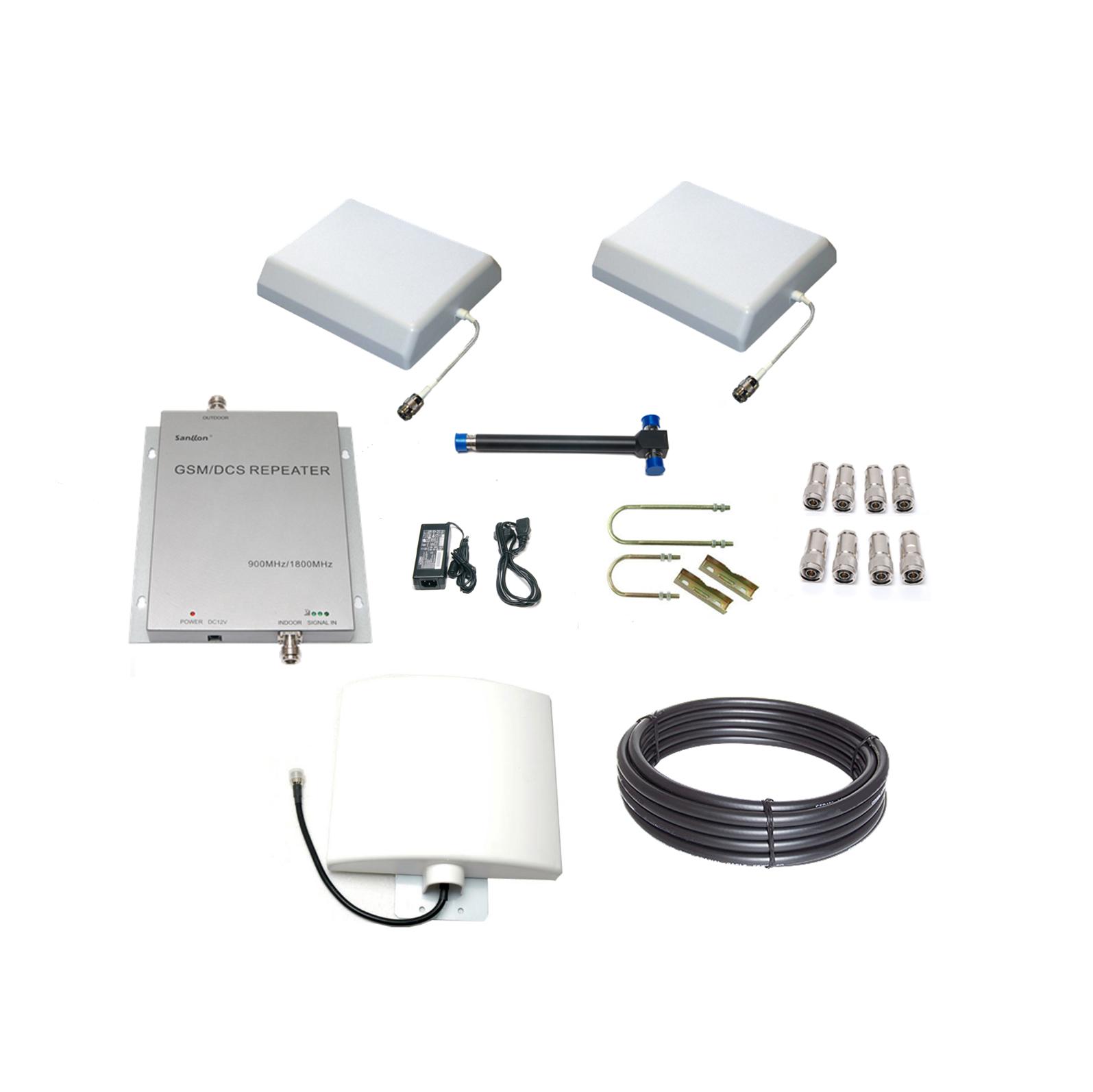 Los kits de instalación llevan antenas, dispositivo, cableados, etc.