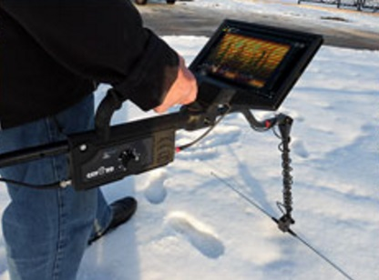 Los georadares se utilizan en muchas actividades profesionales.