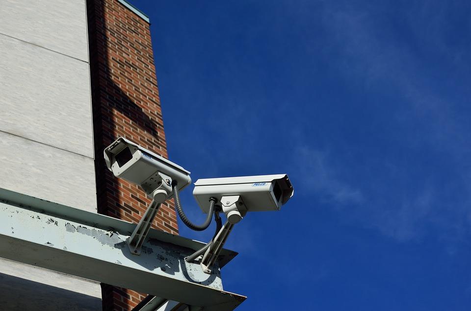 Las cámaras de vigilancia son uno de los sistemas de seguridad más utilizados.