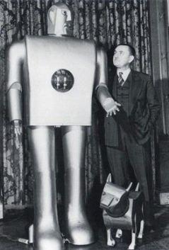 El primer robot de la historia podría hacer 26 movimientos.