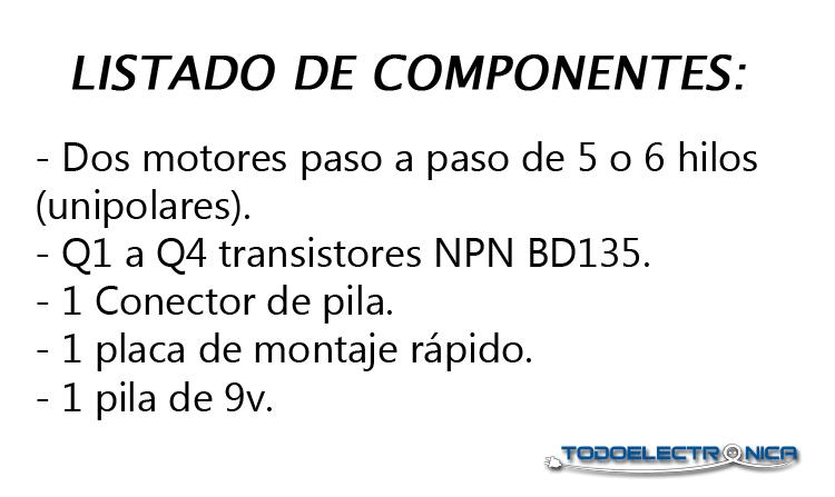 Los componentes electrónicos se pueden comprar en todoelectronica