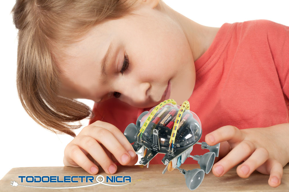 aprende electronica, robotica y programacion con todoelectronica