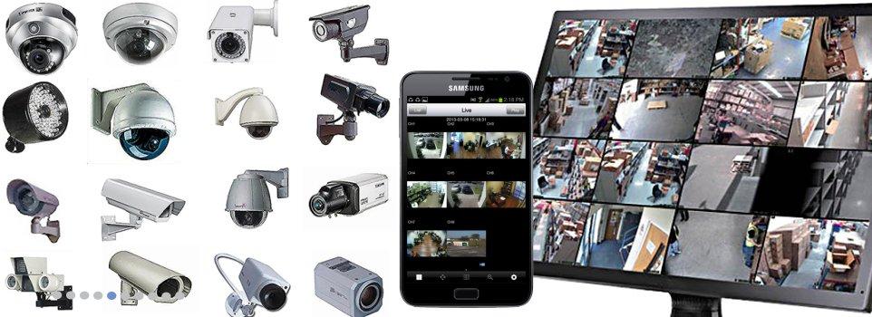 Cctv video surveillance kit