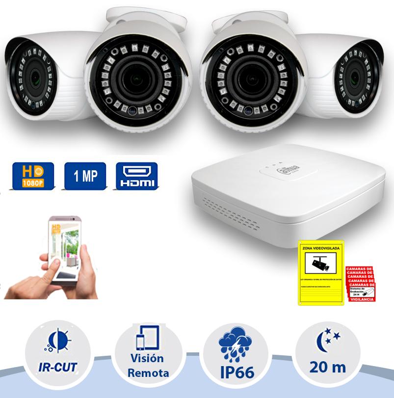 CCTV video surveillance kit todoelectronica