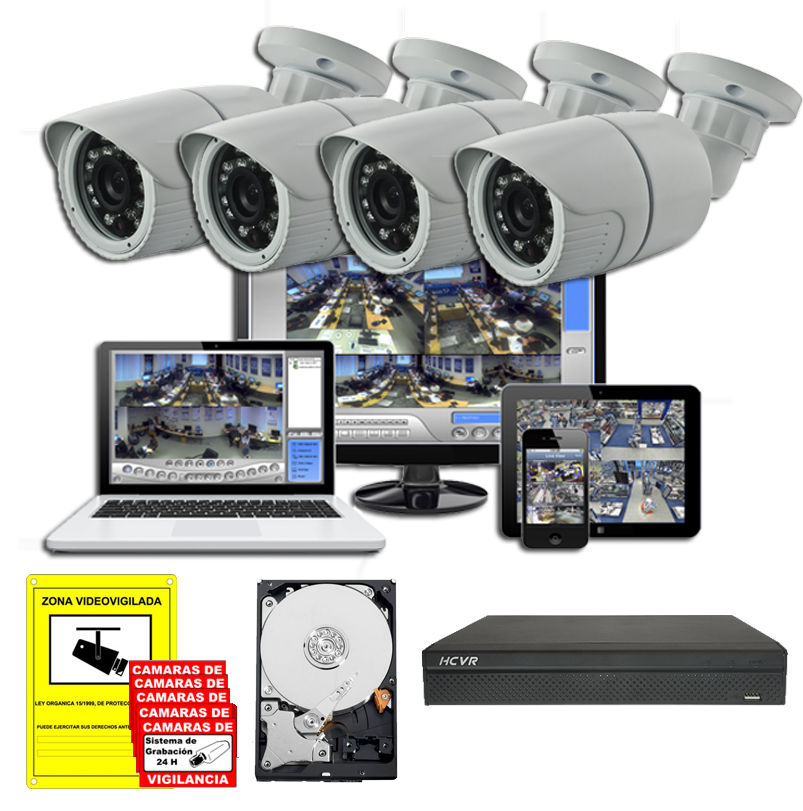 videovigilancia y seguridad en todoelectronica