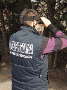 Visión nocturna para visigilancia y seguridad, caza, etc.