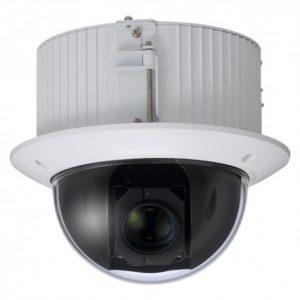 Las cámaras de vigilancia motorizadas pueden programarse por detección de movimiento o controlarse mediante un teclado.