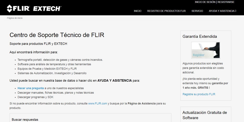 Flir estrena página de Atención al Cliente en español - BLOG