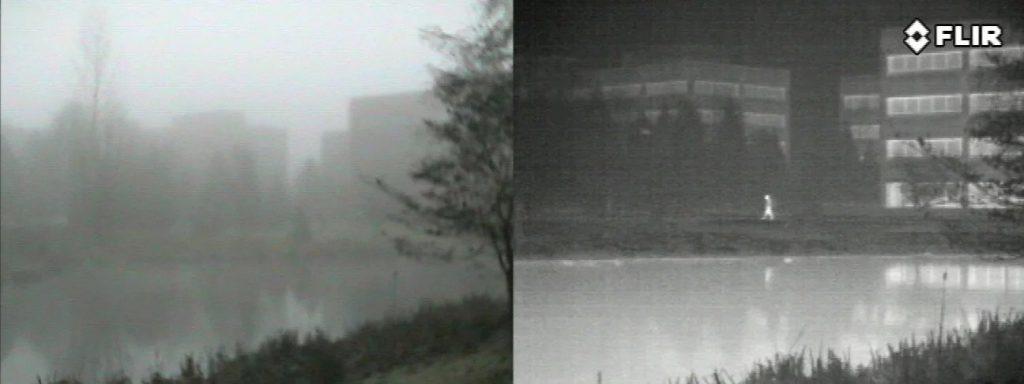 vision termica niebla